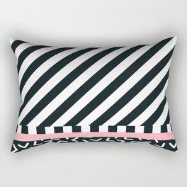 Memphis pattern 87 Rectangular Pillow