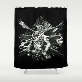 Vanquisher of Pride Arch-A-M Shower Curtain