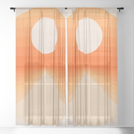 The Distance Sheer Curtain
