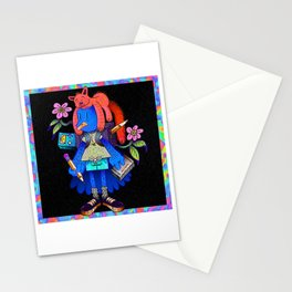 space adventure dude Stationery Cards