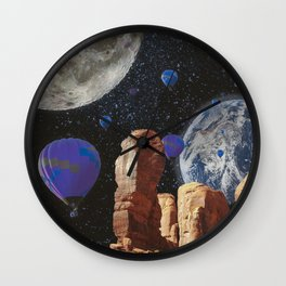 The slow trip in the universe Wall Clock