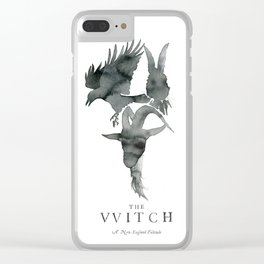 The VVitch Animals Clear iPhone Case
