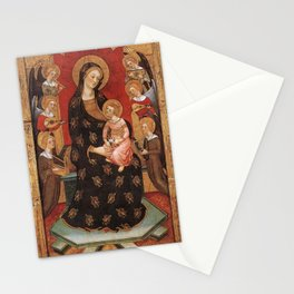 Pere Serra - Virgin of the Angels Stationery Cards