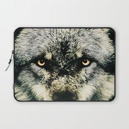 Wolf Paint Laptop Sleeve