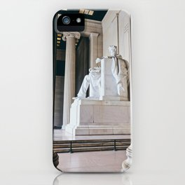 On His Marble Throne iPhone Case