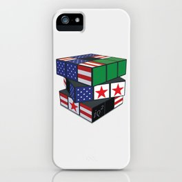 The U.S. Has No Dog In The Fight In Syria iPhone Case