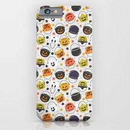 Halloween Candy Buckets iPhone Case