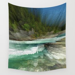Abstract Landsape Wall Tapestry