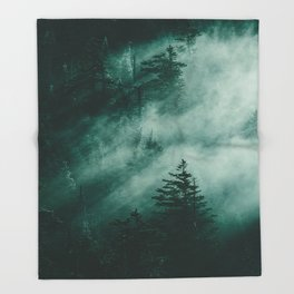 The Beckoning of the Unknown Throw Blanket