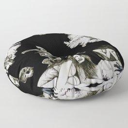 Quod Sumus Hoc Eritis Floor Pillow