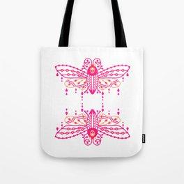 Death's Head Hawkmoth – Pink Ombré Palette Tote Bag