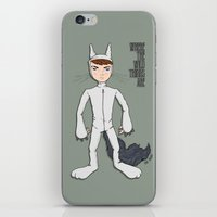 wild things iPhone & iPod Skins featuring Wild Things by Kenneth Shinabery