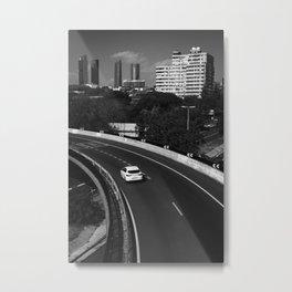 Test Drive Metal Print