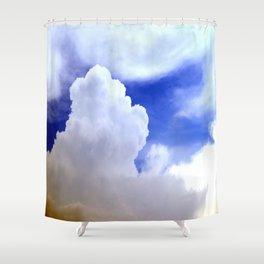 cloudburst Shower Curtain