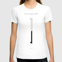 1 is the loneliest number. Is number one always a good thing? T-shirt