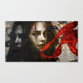 it's all in my head Canvas Print