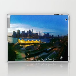 New York City as viewed from the Beautiful Brooklyn Heights Laptop & iPad Skin