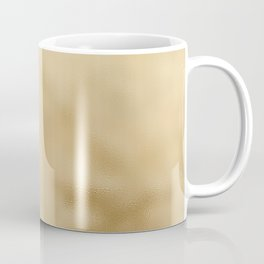 Pale Mottled Champagne Foil Coffee Mug