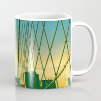 brooklyn Mugs featuring Brooklyn by Chris Groelle