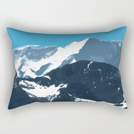 swiss mountains Rectangular Pillow