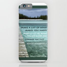 Path to Happiness iPhone Case