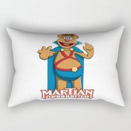 Fozzie Bear the Martian Manhunter Rectangular Pillow
