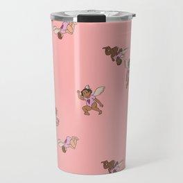 Cupid Legion Pattern- Pink Travel Mug