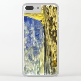 Birling Gap And Seven Sisters Van Goth Clear iPhone Case