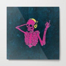 Danse Macabre 3 Metal Print