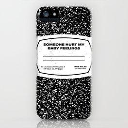 My Feelings iPhone Case