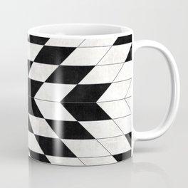 Urban Tribal Pattern No.15 - Aztec - White Concrete Coffee Mug