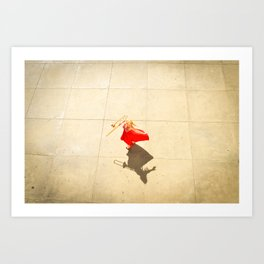 Casting Shadows Art Print