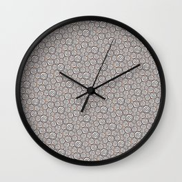 Circles Pattern -Tobiko #abstract Wall Clock