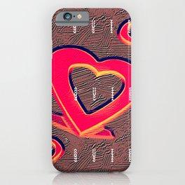 te quiero mucho iPhone Case