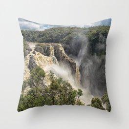 Beautiful Barron Falls Throw Pillow