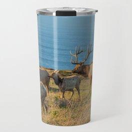 Tule Elk Herd Travel Mug