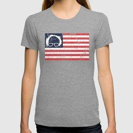 American Flag Bernie Sanders T-shirt