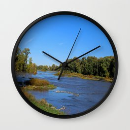 The Maumee at Grand Rapids Wall Clock