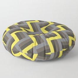 Plus Five Volts - Geometric Repeat Pattern Floor Pillow