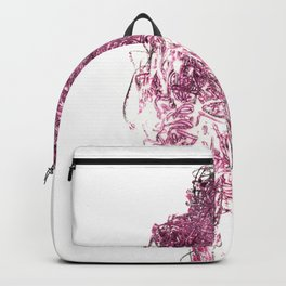Pink Person Backpack