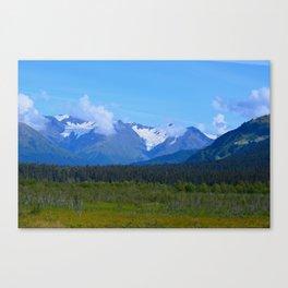 Mountain Glacier Canvas Print