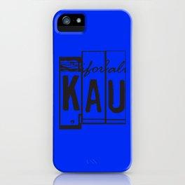 KAU iPhone Case