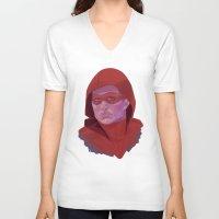 arsenal V-neck T-shirts featuring Roy Harper by Sbrasi