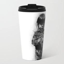 little girl  Travel Mug