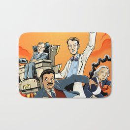 Super Friends of Science! Bath Mat