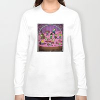 snoopy Long Sleeve T-shirts featuring Zombie peanuts charley brown and snoopy 2 by SkillitArt