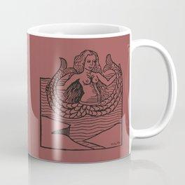 Mermaid on Marsala Coffee Mug