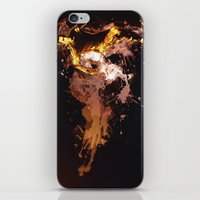 football iPhone & iPod Skins featuring Football by Frauste