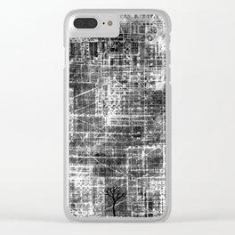Urbanisation 7 Clear iPhone Case