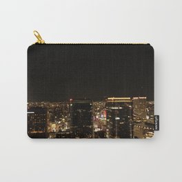 Osaka Black and Gold Carry-All Pouch
